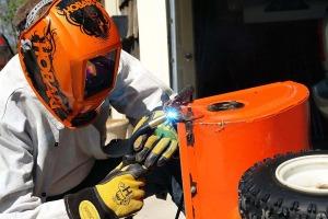 Hobart 770752 Impact Camo Variable Auto-Dark Helmet