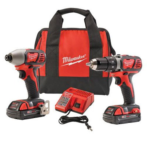 Milwaukee 2691-22 Compact Drill and Impact Driver Combo Kit
