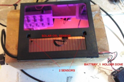 Finding and exposing the battery